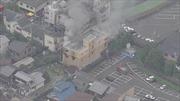 Cháy nổ xưởng phim hoạt hình tại Nhật Bản, gần 40 người thương vong