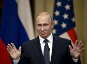 Tổng thống Nga Putin ký ban hành dự luật đình chỉ Hiệp ước hạt nhân INF
