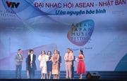 Đại nhạc hội 'Ước nguyện Hòa bình' ASEAN-Nhật Bản