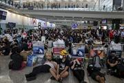 Tòa án Hong Kong (Trung Quốc) ra lệnh cấm biểu tình trái phép tại sân bay