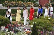 Phu nhân các nhà lãnh đạo G7 thăm Basque, Pháp