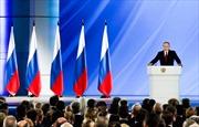 Tổng thống Putin đề xuất trưng cầu dân ý toàn quốc đối với các sửa đổi Hiến pháp Liên bang Nga