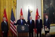Mỹ, Trung Quốc chính thức ký thỏa thuận thương mại giai đoạn 1