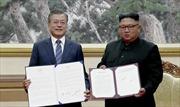 """Các nội dung chính """"Tuyên bố chung Tháng 9"""" của Hội nghị Thượng đỉnh liên Triều"""