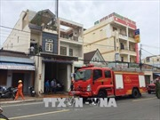 Chập điện, lửa thiêu rụi tầng 2 của căn nhà