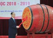 Chủ tịch nước dự Lễ Khai giảng tại Trường THPT Chu Văn An