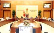 Bế mạc phiên họp 43 của Ủy ban Thường vụ Quốc hội: Hỗ trợ Chính phủ thực hiện 'nhiệm vụ kép' - phòng dịch và phát triển kinh tế- xã hội