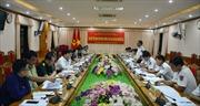 Văn phòng Ban chỉ đạo 389 quốc gia làm việc tại Bộ Tư lệnh Vùng Cảnh sát biển 1