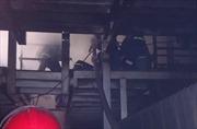Cháy lớn công ty hóa chất ở TP Hồ Chí Minh