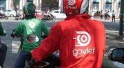 Va chạm nhẹ, tài xế xe ôm công nghệ Go Viet đâm trọng thương người đi đường