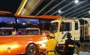 Xe Phương Trang va chạm xe ben khiến nhiều hành khách hoảng loạn