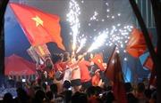 1.001 kiểu ăn mừng 'độc, lạ' của cổ động viên TP Hồ Chí Minh