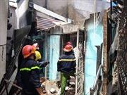 Cháy 2 căn nhà trong hẻm nhỏ, khu dân cư hoảng loạn