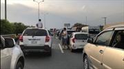 Bốn ô tô đâm liên hoàn trên cao tốc TP Hồ Chí Minh - Long Thành - Dầu Giây