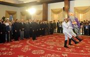 Lễ viếng Chủ tịch nước Trần Đại Quang tại TP Hồ Chí Minh