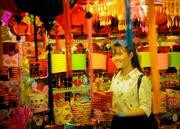 Rực rỡ sắc màu trên phố lồng đèn Trung thu
