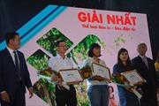 Báo Tin tức đạt giải Nhất giải báo chí du lịch TP Hồ Chí Minh