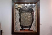 Tác phẩm 'Con người' của họa sĩ Đinh Văn Sơnđược bán với giá 8.000 USD