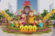 Tất bật hoàn thiện các công đoạn của Đường hoa Tết Canh Tý 2020