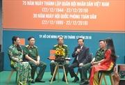 Nhiều hoạt động thiết thực kỷ niệm 75 năm Ngày thành lập Quân đội nhân dân Việt Nam