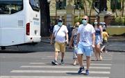 Người dân TP Hồ Chí Minh chấp hành nghiêm túc việc đeo khẩu trang nơi công cộng