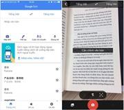 Google dịch cập nhật tiếng Việt vào tính năng dịch qua camera