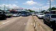 Cầu Vàm Cống thông xe, trạm BOT T2 liên tục bị ùn ứ