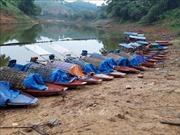 Nhức nhối nạn đánh cá bằng xung điện trên hồ Thác Bà
