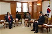 Việt Nam coi trọng phát triển quan hệ đối tác hợp tác chiến lược với Hàn Quốc