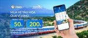 Đường sắt thêm kênh thanh toán vé tàu trực tuyến