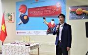 Nhân 74 năm Quốc khánh: Sôi động giải bóng bàn người Việt tại Liên bang Nga