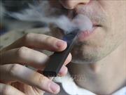 Thêm bằng chứng về khả năng vitamin E Acetate gây tổn thương phổi khi hút thuốc lá điện tử