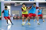 Đội tuyển Futsal Việt Nam vẫn miệt mài tập luyện dù Tết đã cận kề