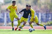 U23 Việt Nam chỉ có một buổi tập tại Bangkok trước khi đấu với U23 Triều Tiên