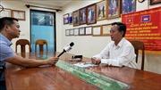 Cộng đồng người gốc Việt tại Campuchia tích cực phòng chống dịch COVID-19