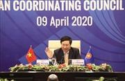 Trao đổi biện pháp phối hợp chung của ASEAN kiểm soát, ngăn chặn sự lây lan của dịch COVID-19