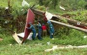 Mưa to, dông lốc làm hư hại nhà cửa và hoa màu tại Lào Cai