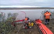 Nga ngăn chặn dầu loang trong sự cố tràn dầu nghiêm trọng ở Siberia