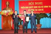 Chủ tịch UBND tỉnh Hà Tĩnh Đặng Quốc Khánh giữ chức Bí thư Tỉnh ủy Hà Giang