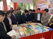 Trưng bày hơn 10.000 cuốn sách kỷ niệm 90 năm ngày thành lập Đảng Cộng sản Việt Nam