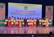 Tôn vinh 72 công nhân vệ sinh môi trường tiêu biểu toàn quốc