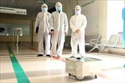 Đưa robot lau sàn khử khuẩn vàothử nghiệm hỗ trợ điều trị COVID-19