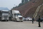 Gần 800 xe tồn ở các cửa khẩu chờ xuất hàng
