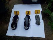 Tìm thấy giày, tất của nghi phạm sát hại hai vợ chồng ở Hưng Yên