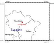 Khẩn trương khắc phục hậu quả rung lắc do động đất ở Cao Bằng