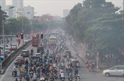 Hà Nội xếp hạng thành phố ô nhiễm nhất thế giới trong sáng 26/9