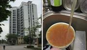 Khu đô thị mới phải dùng nước bẩn: Cư dân tiếp tục... chờ