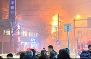 Video hiện trường mù mịt khói lửa tại vụ nổ nhà hàng ở Nhật Bản