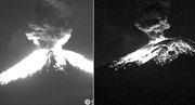 Núi lửa Mexico phun trào tung tro bụi cao 2km