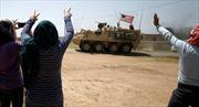 Video xe quân sự Mỹ nối đuôi nhau rời Syria